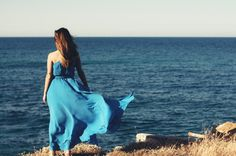 Blue for photo by P. My Photos, Harem Pants, Fans, In This Moment, Summer, Blue, Fashion, Moda, Harem Jeans
