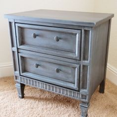 Achieve a copycat Restoration Hardware look with this Faux Zinc Finish Tutorial.