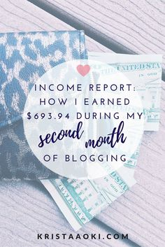 Second Income Report (March) on Krista Aoki, a lifestyle & travel blog | monetize blog, affiliate links, make money blogging, blogger