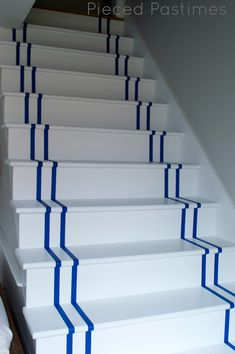 Image result for runner painted on stairs
