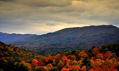 Fall in Appalachia. Along the Appalachian Mountains in the southwestern part of Virginia.