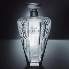 Welcome the limited edition Beluga Epicure by Lalique!  With only 1000 crystal decanters produced, it is a true celebration of artistry and mastery of our craftsmen