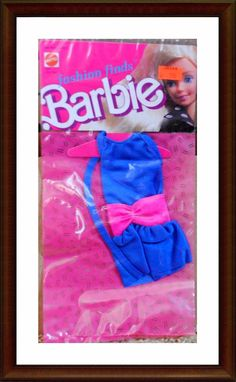 Vintage Barbie Clothes - 1980's Fashion Finds - NRFP - In Package - Lot 9 | eBay