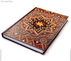 Купить Ежедневник с росписью Австралия, А5, ежедневник, блокнот, этнический - ежедневник, ежедневник ручной работы