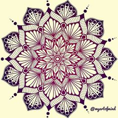 Mandala artwork design