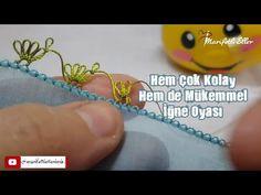 Hem Çok Kolay Hem de Mükemmel Bir İğne Oyası Modelinin Yapımı | 968. Model - YouTube Baby Knitting Patterns, Coke, Youtube, Coca Cola, Cola, Youtubers, Youtube Movies