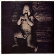 "CvA045. Pixies ""Gigantic / River Euphrates"" 12"" by Vaughan Oliver / Photo: Simon Larbalestier / 4AD 1988 / BAD805 / #Albumcover"