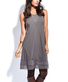 A lovely layered hem adds charm, and an elegant cut lengthens your lines in this breezy sleeveless dress. Size note: This item is from a European brand. Please refer to the size chart to ensure best fit. Shipping note: This item is shipping internationally. Allow extra time for its journey to you.