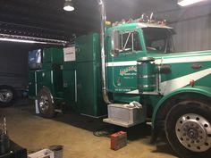 Dump Trucks, Big Trucks, Shop Truck, Peterbilt Trucks, Heavy Truck, Guy Stuff, Garage Ideas, Tool Box, Rigs
