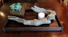 A personal favorite from my Etsy shop https://www.etsy.com/listing/277544578/driftwood-sculpture