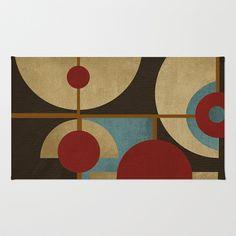 Textures/Abstract 98 Area & Throw Rug by ViviGonzalezArt - $28.00