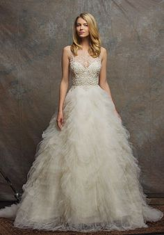 Enaura Bridal Couture ES763 - Florentine Ball Gown Wedding Dress