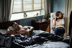 Jeffrey Donovan & Gabrielle Anwar as Michael Westen & Fiona Glenanne in the pilot episode of Burn Notice, Season 1, Episode 1.