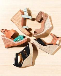Beachy wedges by Michael Kors