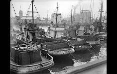 Impounded Japanese fishing boats, Fish Harbor, Terminal Island, Los Angeles, February 1942.