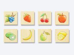 Botanical Fruits collection