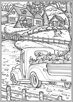 halloween coloring pages Welcome to Dover Publications Welcome to Dover Publications Fall Coloring Pages, Halloween Coloring Pages, Printable Adult Coloring Pages, Christmas Coloring Pages, Coloring Pages To Print, Coloring Sheets, Coloring Books, Colouring Pages For Adults, Dover Coloring Pages