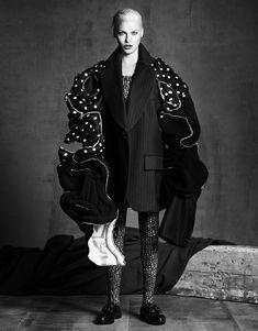 ru_glamour: Carolyn, Claudia, Eva, Guinevere, Karen, Linda etc. For Vogue Japan September 2014