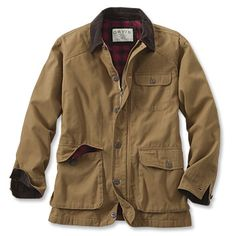 With autumn weather upon us, time to break out the Classic Barn Coat -- Orvis
