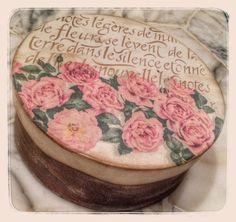 scatola rose