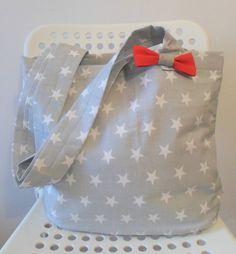 Lunch Bag Gwiazdki w zaradna na DaWanda.com