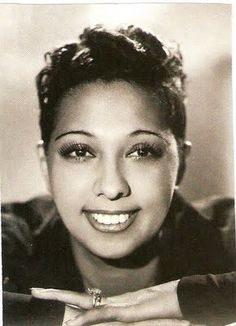 A great lady, Josephine Baker