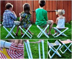 Toddler PVC Chairs Are Easy To Make | The WHOot