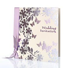 Paradise Invitation by Bride & Groom Direct - Available through the Wedding Heart website: http://www.weddingheart.co.uk/bride-and-groom-direct---wedding-invitations.html