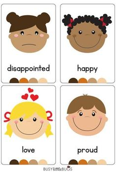 "Our ""Emotions Flash Cards"" are a great learning tool for your children to learn all about their emotions!  All cards are designed with bright colourful, high quality images."