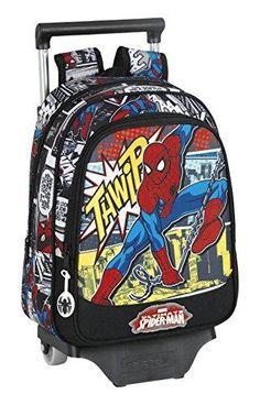 Oferta: 27.04€ Dto: -29%. Comprar Ofertas de Marvel Spider-Man Ultimate Mochila escolar, 34 cm, Negro barato. ¡Mira las ofertas!