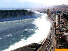 Denizlerde Meydana Gelen Doğal Afetler   Tusunami
