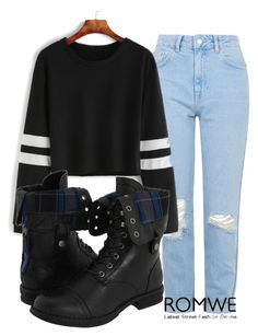 """Untitled #460"" by fangirling ❤ liked on Polyvore featuring Topshop and Madden Girl"