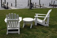How To Make Adirondack Chairs From Salvage Fence Planks