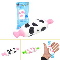 Areedy Squishy Milk Candy Slow Rising With Original Packaging Cute Kawaii Collection Gift