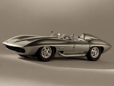 doyoulikevintage: 1959 Corvette Stingray racer concept