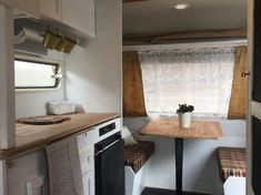 My vintage trailer! Roulotte Tabbert 3600 silver edition,1980. Vintage caravan glamping makeover. On sale in Genova, Italy €10,000. For info: Rebeccarinaldidesign@gmail.com Caravan Makeover, Glamping, Countryside, Cottage, Italy, Cabinet, Beach, Silver, Furniture