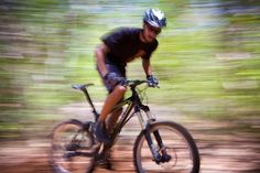 Mountain biking at Hacienda Guachipelin in Costa Rica