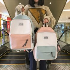 School Backpack For Girl Bags Set Middle Students Female Floral New High Quality