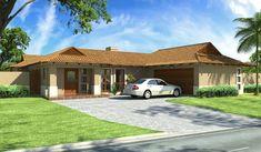 Bali Style 203m² Western Entrance House Plan
