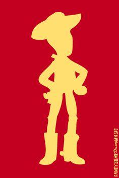 Toy Story -- Woody  From fancysomedisneymagic.tumblr.com