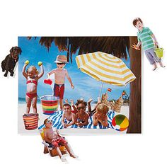 Vacation Magnets by parents.com #DIY #Magnets #Vacation #parents