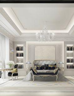 Luxury bedroom Design - IONS DESIGN www.ionsdesign.com
