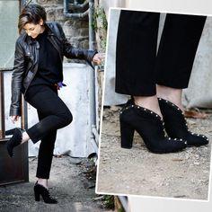 Consuelo Blocker in Arezzo shoes