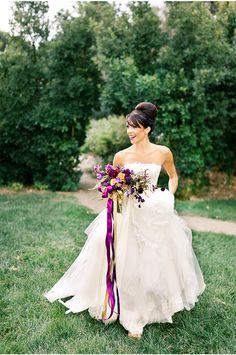 So beautiful via StyleUnveiled.com / Cori Cook Floral Design / Brumley & Wells / Glamour Wedding Ideas