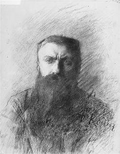 artemisdreaming:  Self Portrait, 1859Auguste Rodin