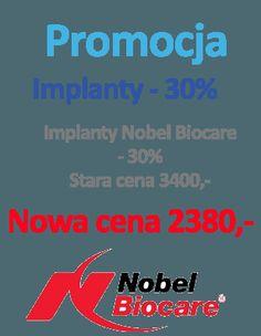 promocja na #implanty w gabinecie Dentalmed