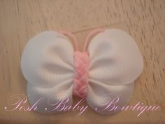 Butterfly hair bow DIY