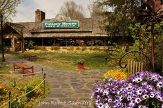 There are so many great places to shop and eat right across from Vacation Lodge!