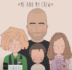 #personalisedillustration #customportrait #illustration #familyportraits Family Portraits, Family Guy, Face, Illustration, Fictional Characters, Design, Family Posing, Illustrations, Fantasy Characters