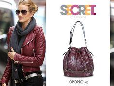 Bombonera Secret 2015 Rebecca Minkoff, Leather Jacket, Jackets, Bags, Fashion, Purses, Winter, Studded Leather Jacket, Down Jackets
